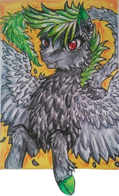 Aceo trade for upalafire by GingerAdy