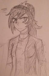 Human Octavia doodle