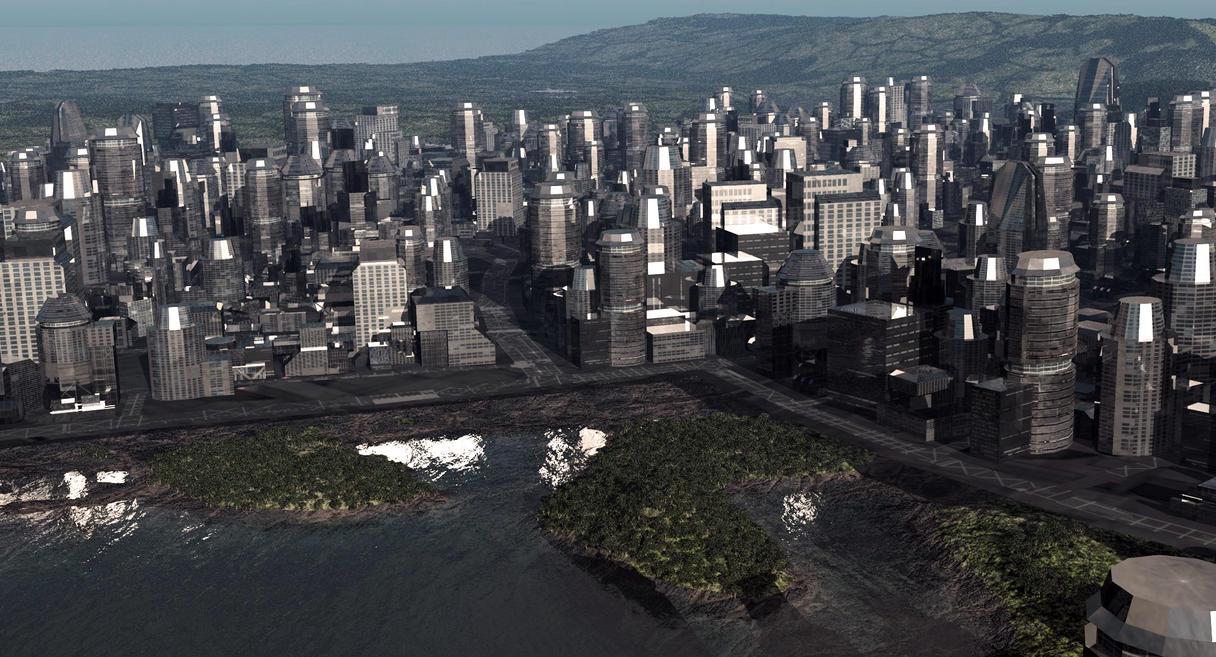 Cityengine New York City