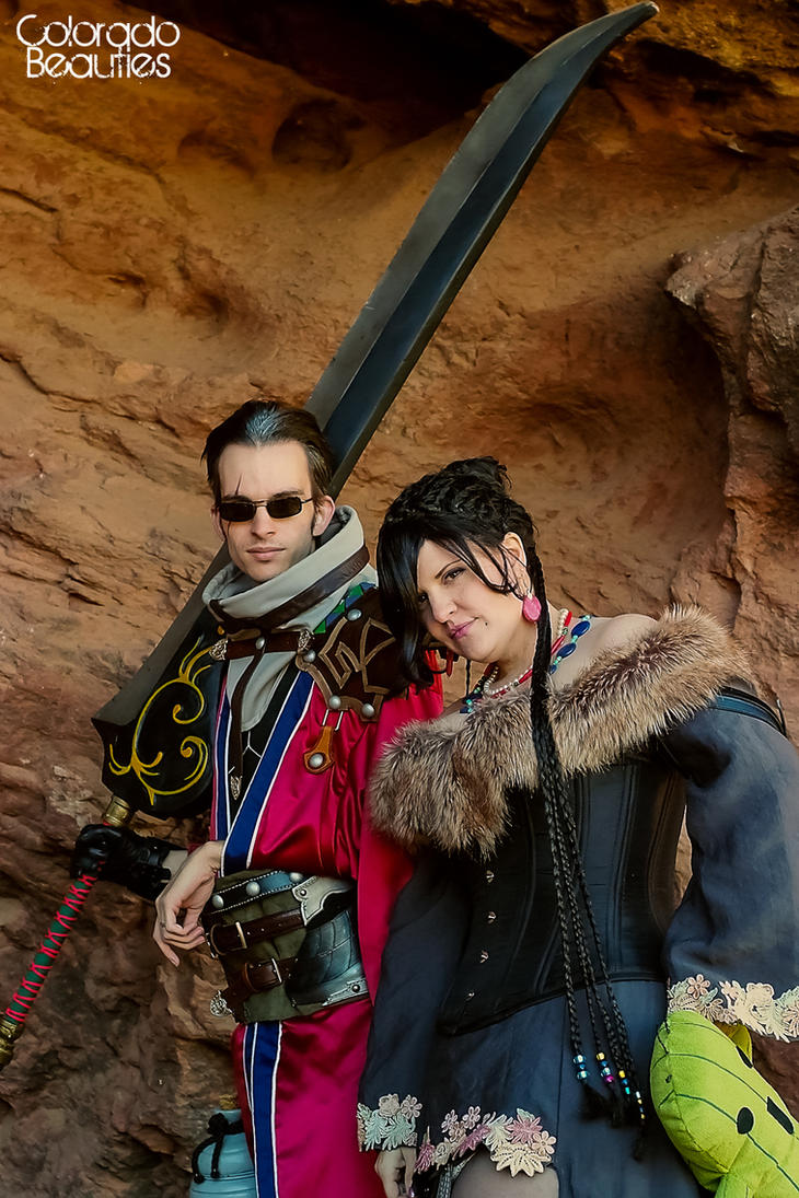 FFX Photoshoot at Red Rocks by ArmarnaDelany