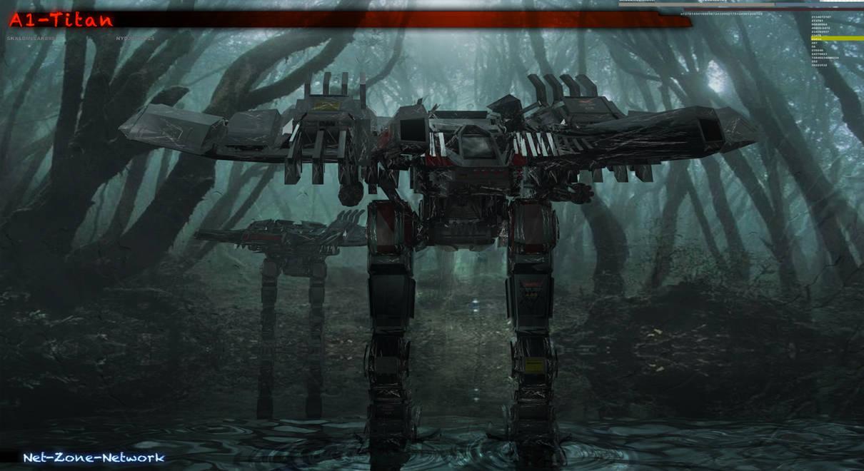 A1-Titan Robot. by Net-Zone-Network