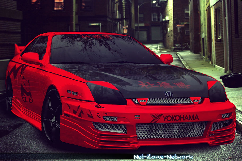 Honda Prelude with Body Kit by Net-Zone-Network