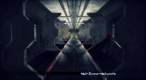 Corridor sci-fi by Net-Zone-Network