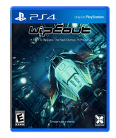 Wipeout fan made game cover