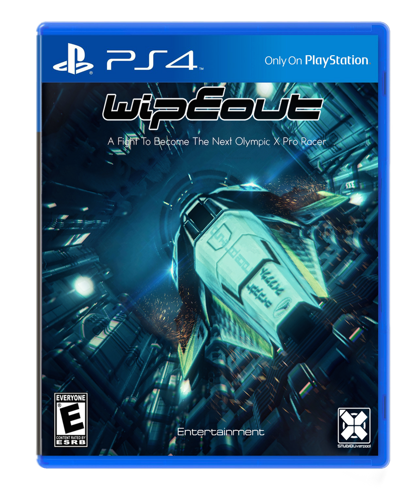 Wipeout fan made game cover by Net-Zone-Network