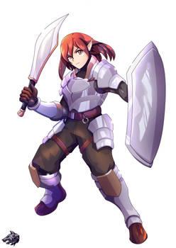 :: Elf Warrior ::