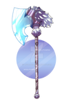 (OPEN) :: Adoptable Weapon 3 - Ancient Axe :: by lWolfkerg