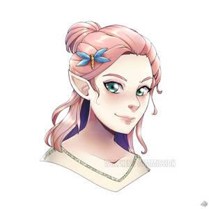 [C] :: Elf Portrait ::
