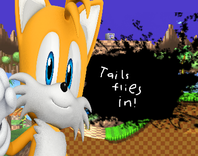 SSB4: Tails Flies In! by Rapthemonkey9