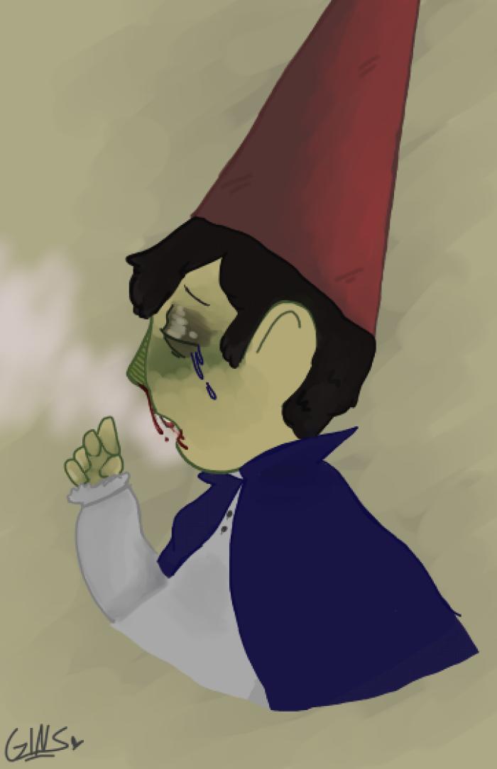 sad boy by RainbowSlicer