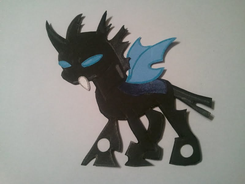 MLP Changeling by Nahima