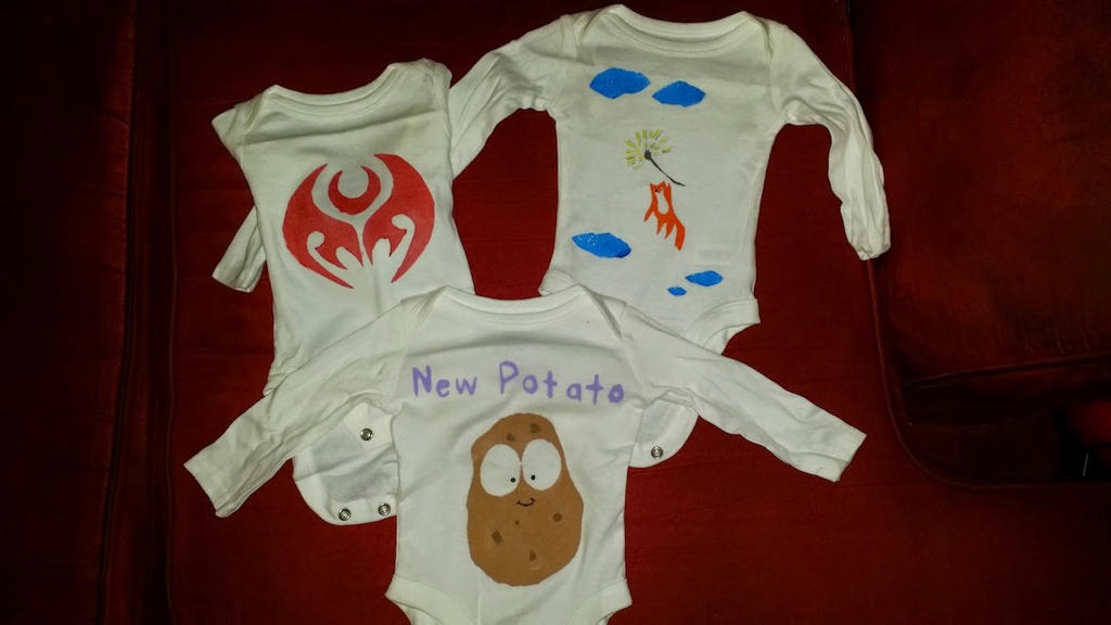 Baby Oneies by Nahima