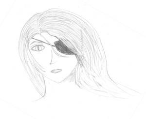 Pirate in the wind -sketch