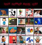 My Horror Movie Cast