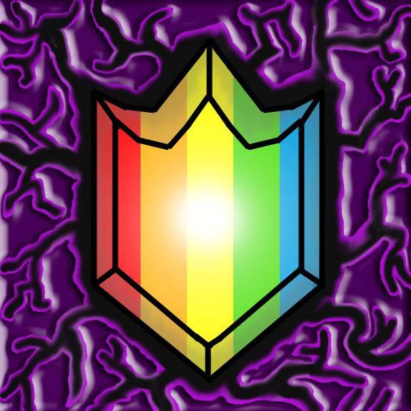 Rainbow Shield by GalacticGlitter