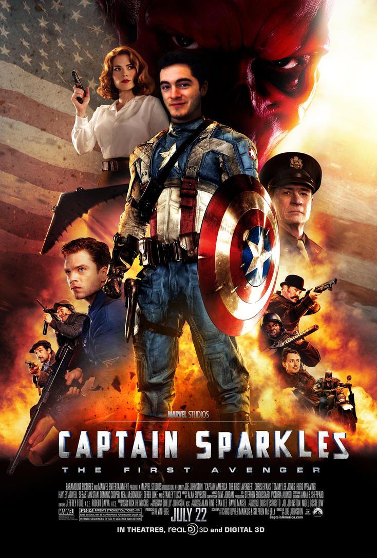 Captain Sparklez: The First Avenger by silversteve103