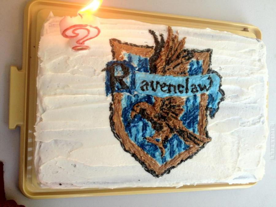 Cake Artist Meaning : Ravenclaw Cake by VGCG on DeviantArt