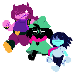 Run Gang by le-catty-cat