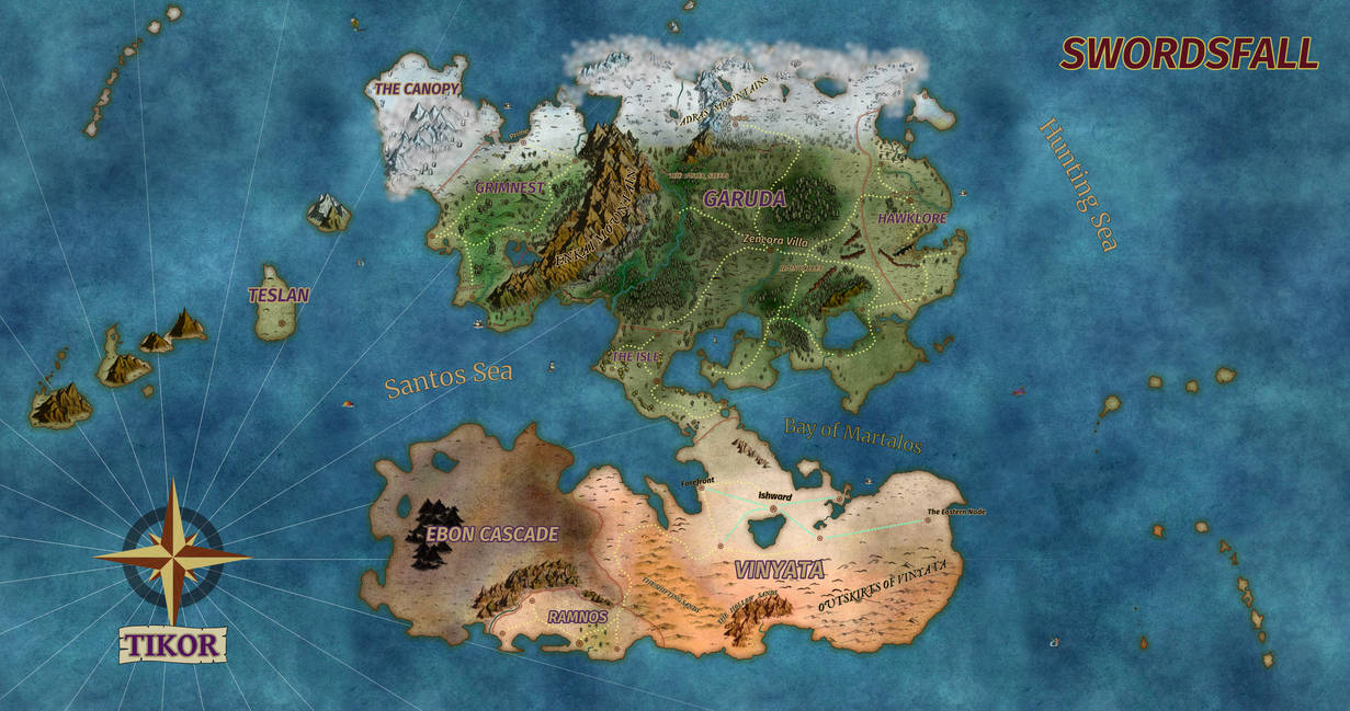 Tikor World Map