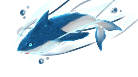 Float the flying shark by SavePointChou