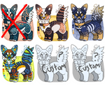 Adopts #5 - OPEN - (2 custom POINT slots) REDUCED!