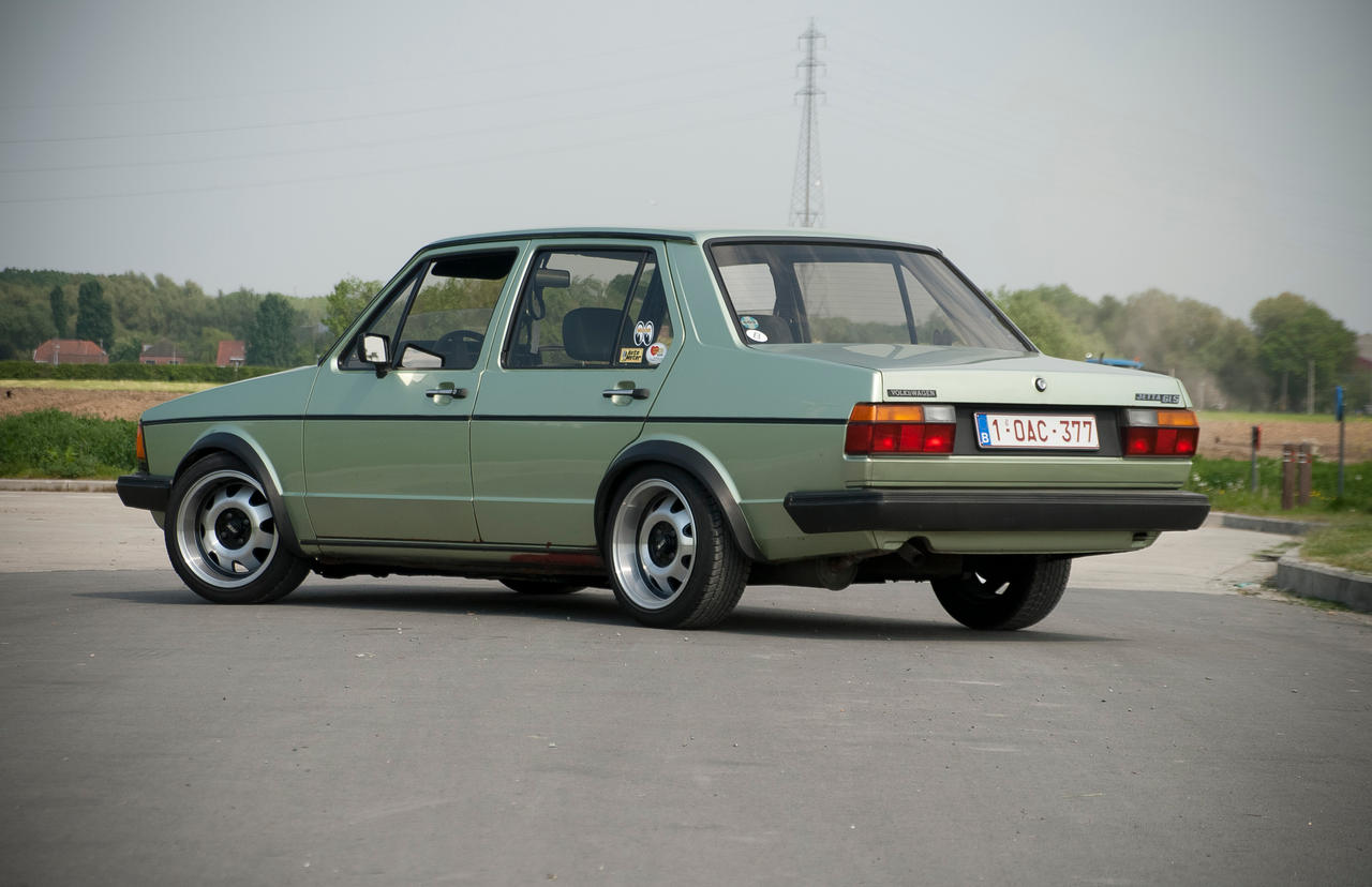 Jetta '80 Season 2011 Back by dafour