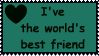 I've the world's best friend by Svavarsdottir