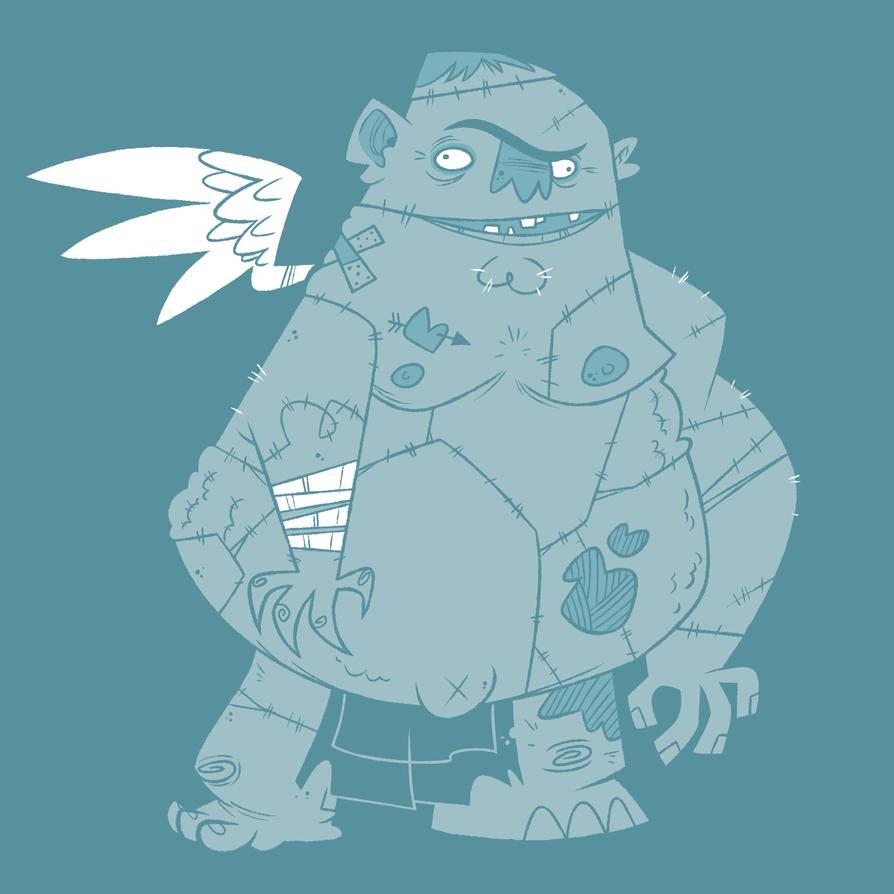 Frankenstein's Monster by Creaturesforhire