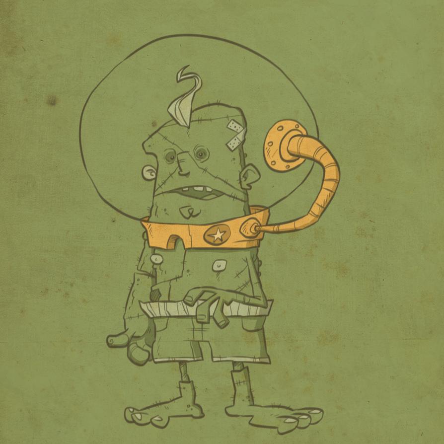 Frankenstein's Monster 2 by Creaturesforhire
