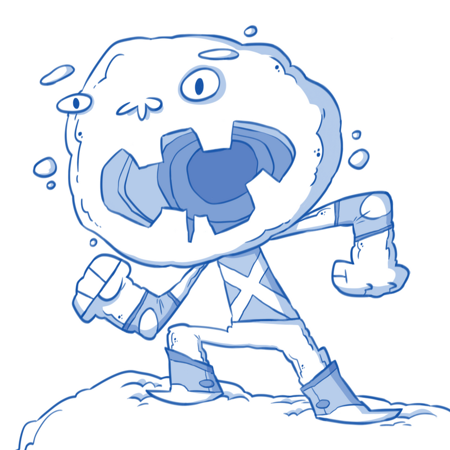 Iceman by Creaturesforhire
