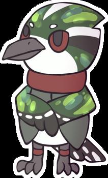 [Personal Art] Diederik cuckoo