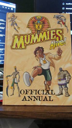 Mummies Alive Annual 1998