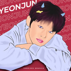 YEONJUN FIRST EVER VEXEL #VEXELDEBUT by xedrik24