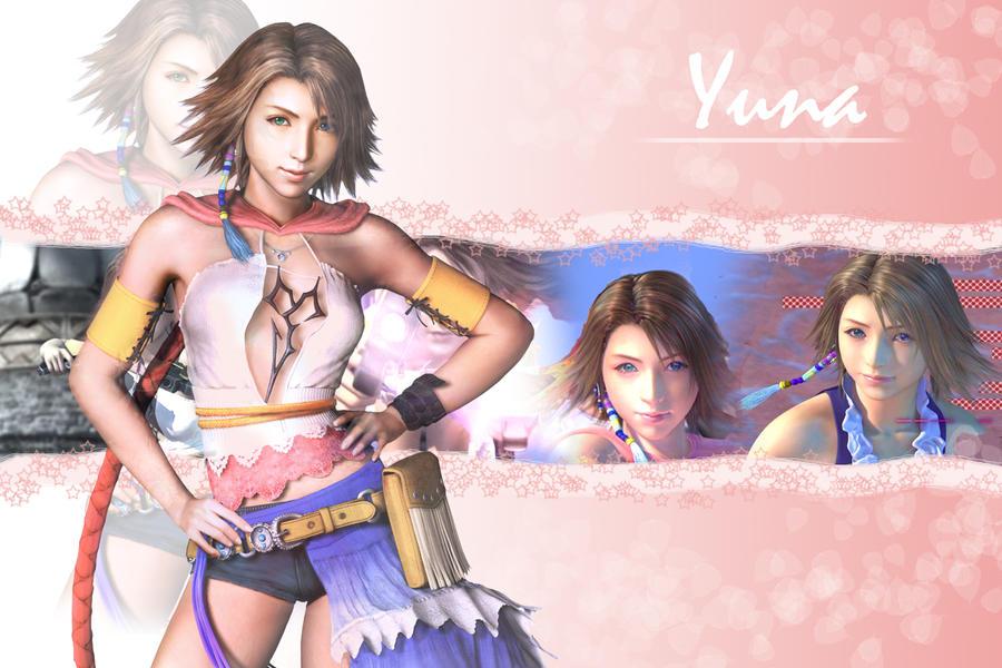 Yuna wallpaper by shinrawallpapers on deviantart - Yuna wallpaper ...