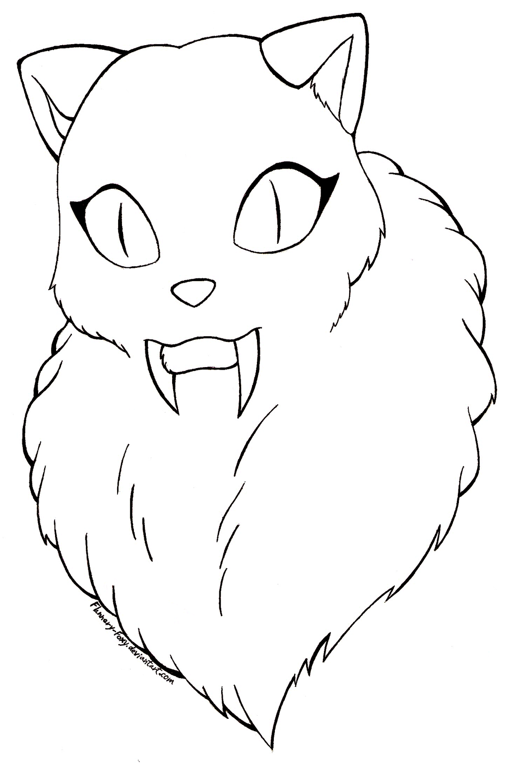 coloring book pages of kirara - photo#7