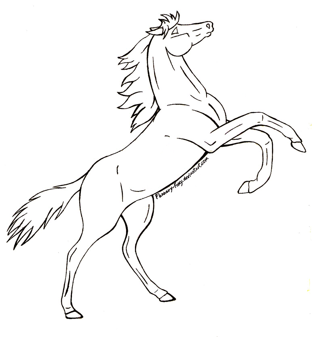 It's just a picture of Adorable Horse Legs Drawing