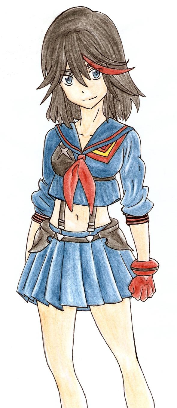 Ryuko-chan by Shikumeka