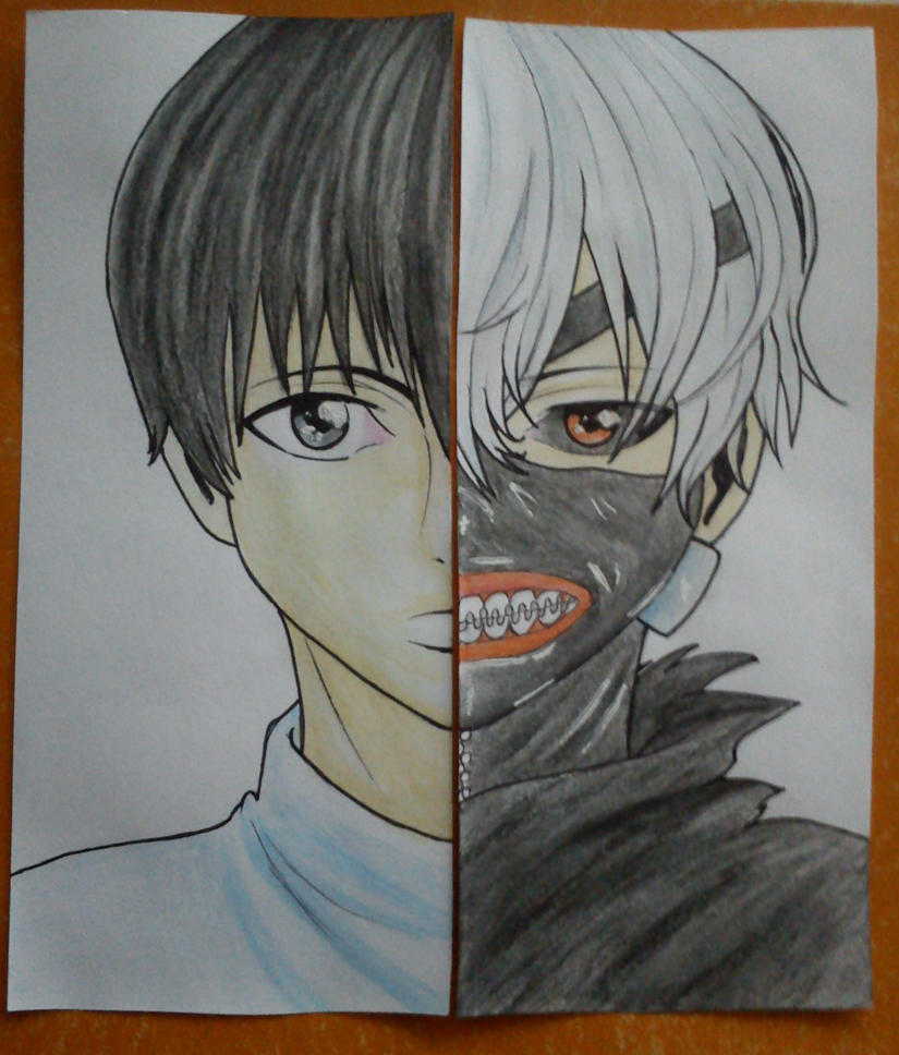 Kaneki twinbookmarks by Shikumeka