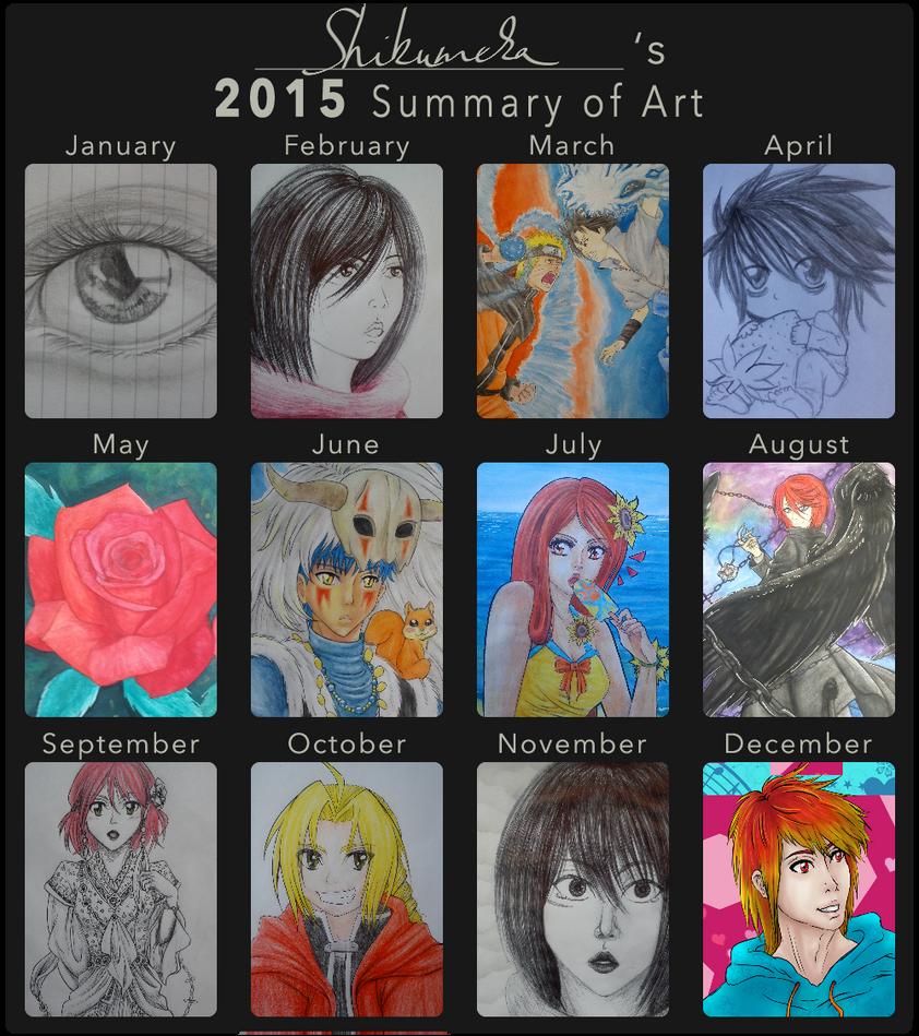 Summary of 2015 by Shikumeka