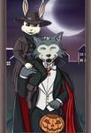 Halloween with Legosi and Haru