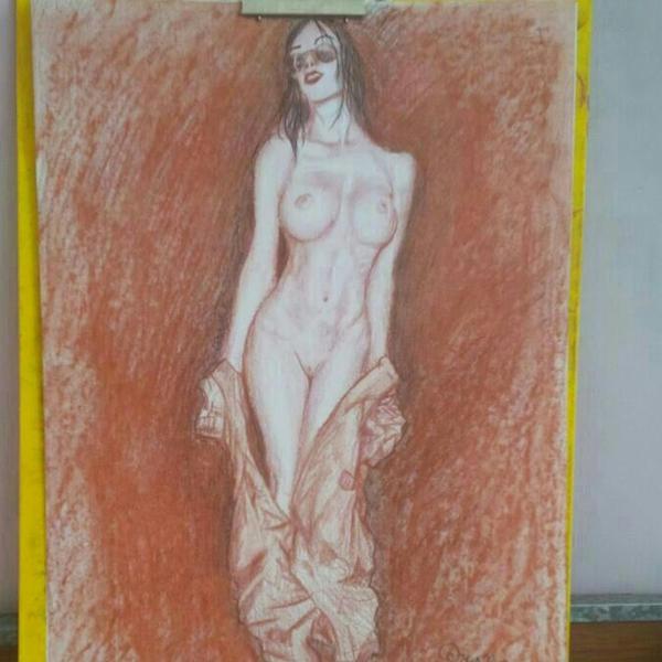 pinup art work by ehsan5fdp