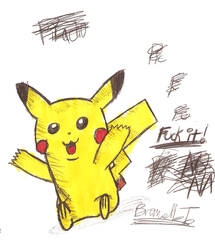 Pikachu : Request by Zehdils