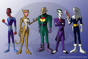 The New Legion of Doom by stuf123
