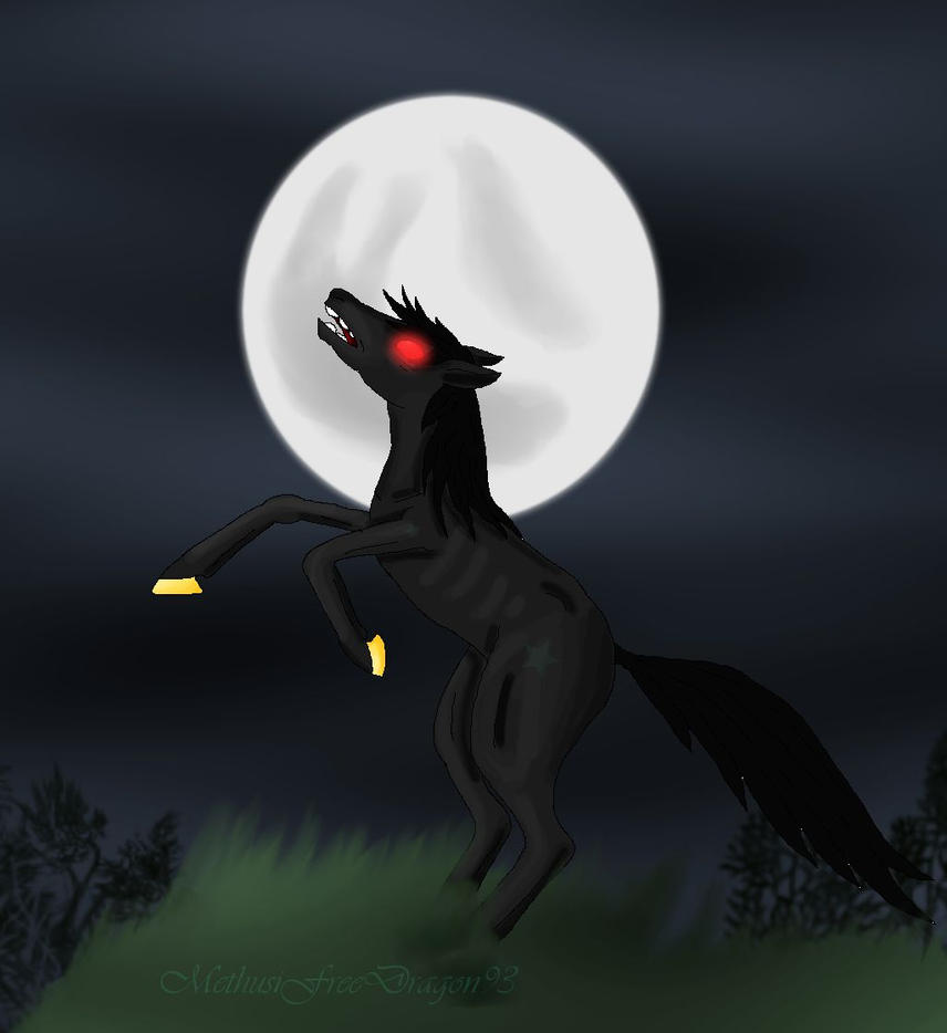 Dark Undead Steed by KuznyaDragonOfBaa