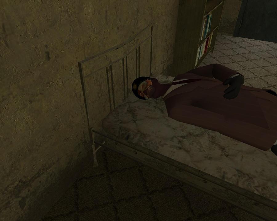 Sora Spy sleeping by KuznyaDragonOfBaa