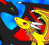 Free Dragon and Dragon by KuznyaDragonOfBaa
