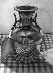 vase reflections