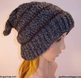 Dark Faery Slouch Hat 2