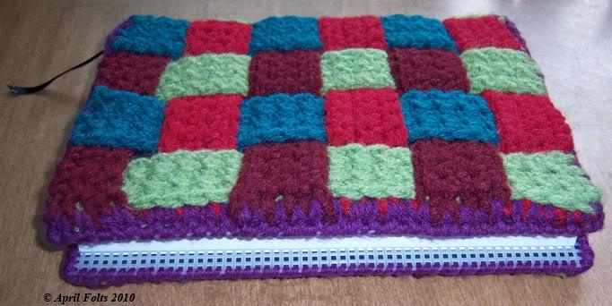 Crochet Book Cover By Aprildraven On Deviantart