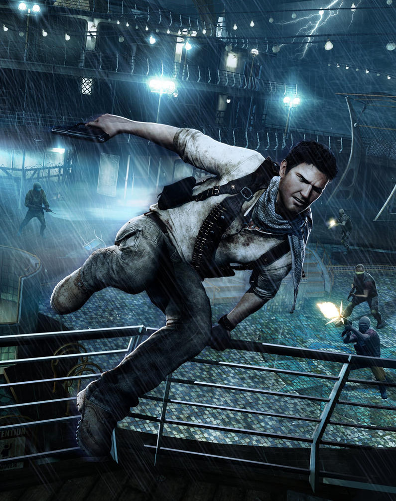 Uncharted 3 Drake's Deception by snakeff7